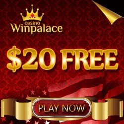 WinPalace Casino Bonus Codes for $20 Free