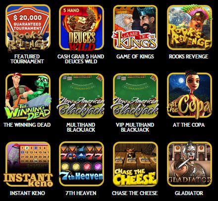 drake-casino-featured-games