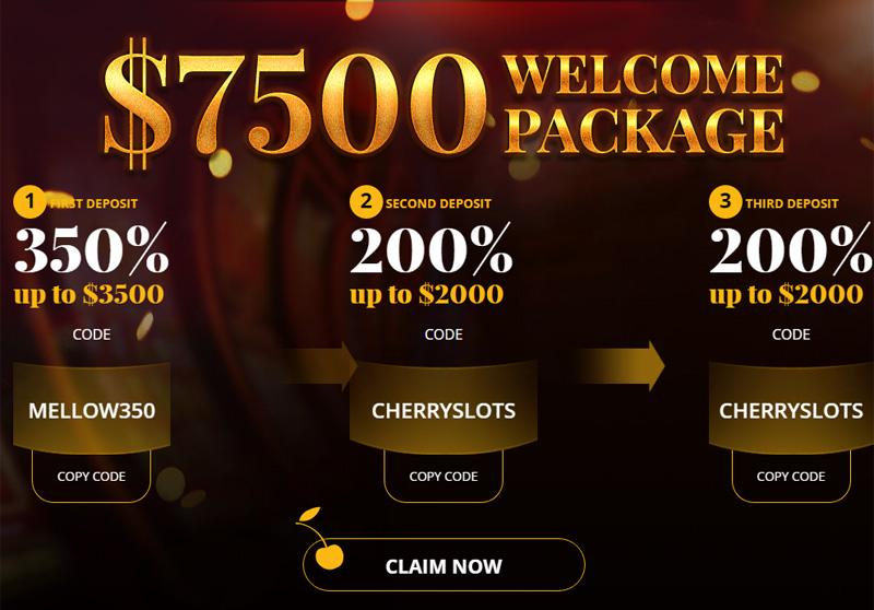 Cherry Gold No Deposit Bonus Code 25 Free Aug 2020