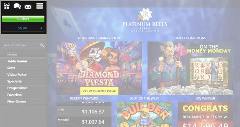 Platinum Reels No Deposit Bonus Codes 2021