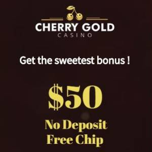 Cherry Gold No Deposit Bonus Code