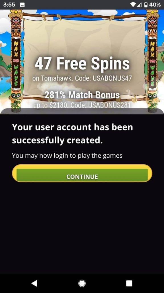 Mobile casino free 10